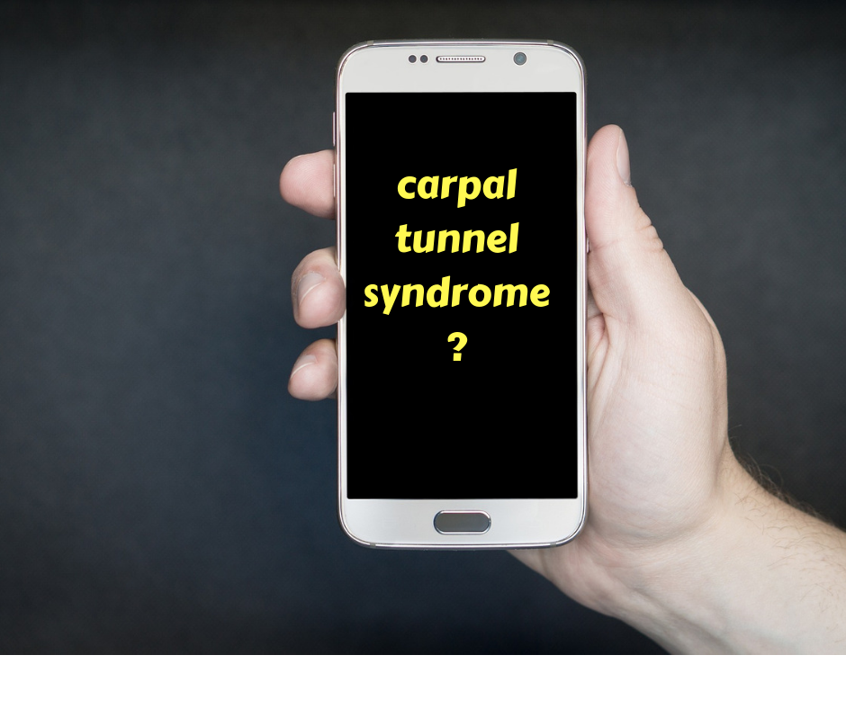 carpal tunnel and cell phone use
